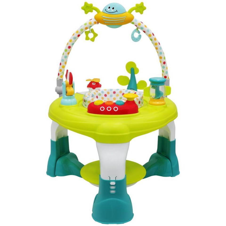 Camy Babyland Bubbles Spin & Jump