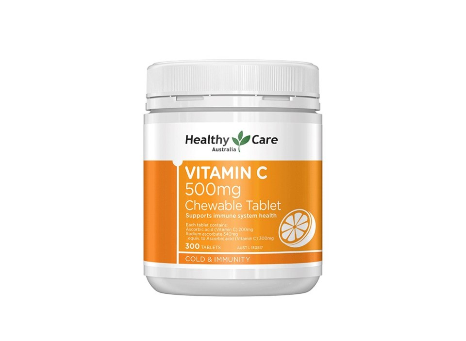 Healthy Care Vitamin C 500mg