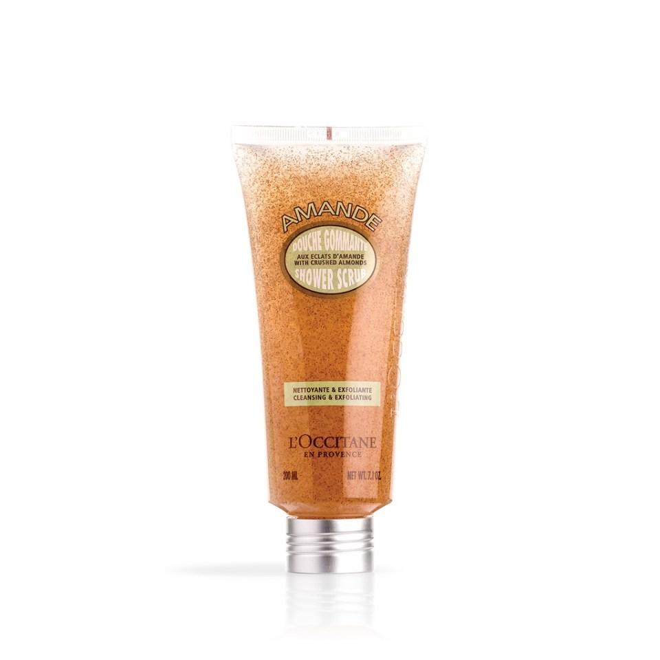 L'Occitane Almond Shower Body Scrub Malaysia