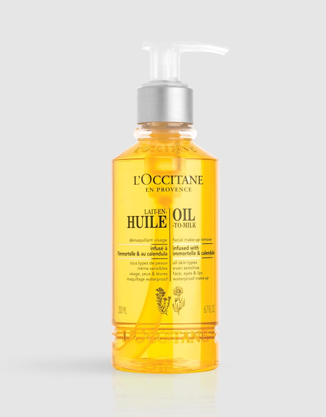 L'Occitane Oil-To-Milk Facial Make-Up Removerbest makeup removers Malaysia