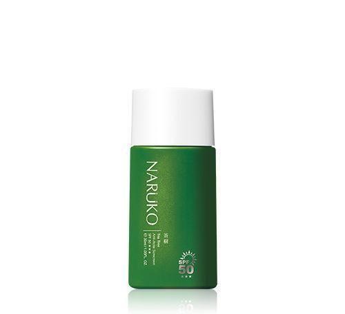 NARUKO Tea Tree Anti-Acne Sunscreen SPF50+++best sunscreens for oily skin Malaysia