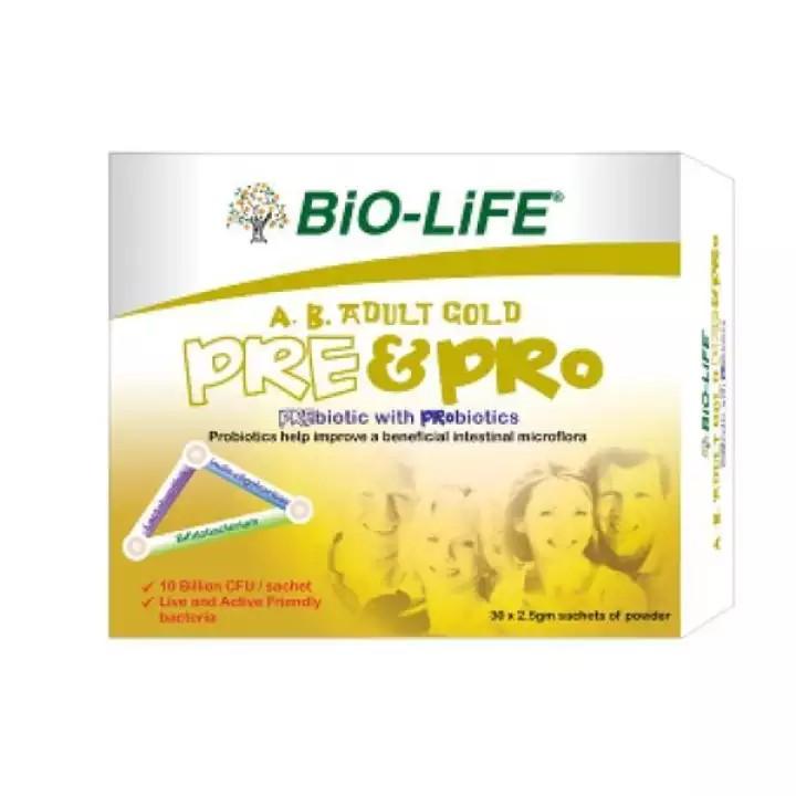 Bio-life AB Adult Pre & Pro Probiotics