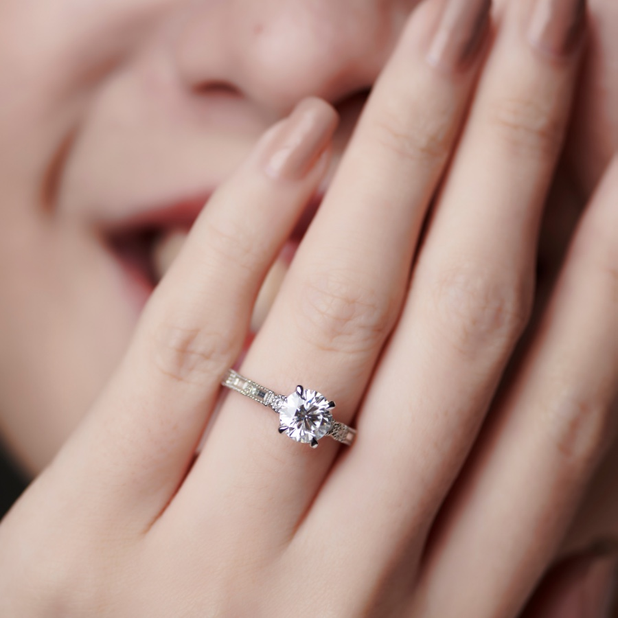Carrie K engagement ring