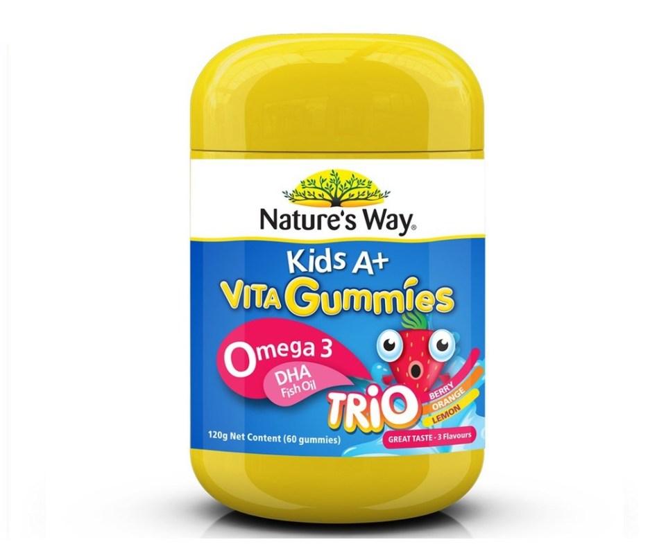 Nature's Way Kids A+ Fish Oil Malaysia