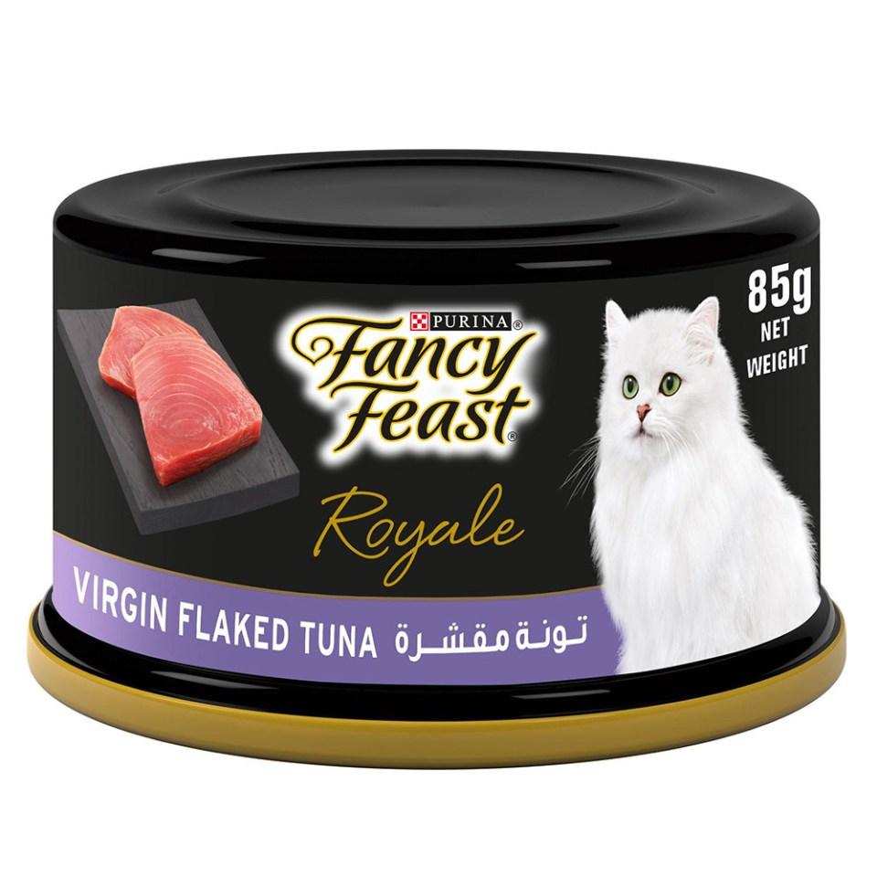 Fancy Feast Royale Wet Cat Food - Virgin Flaked Tuna Best Cat Foods Malaysia