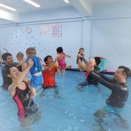 AquaBambinos Best Baby Swimming Classes Singapore