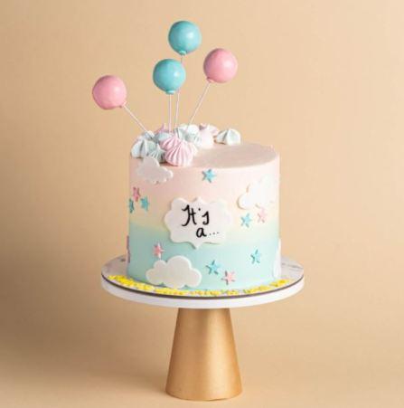 Baker's Brew Best Gender Reveal Cakes Singapore