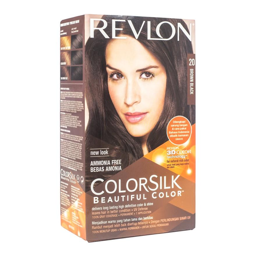 Revlon Hair Colorsilk cat rambut yang bagus