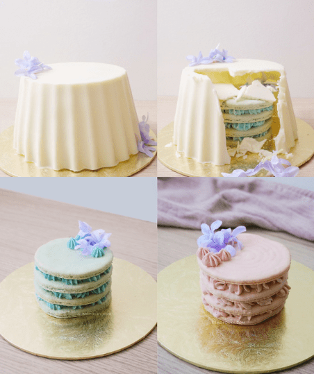 Sumopocky Best Gender Reveal Cakes Singapore