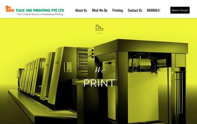 Tuck Mei Printing Pte Ltd
