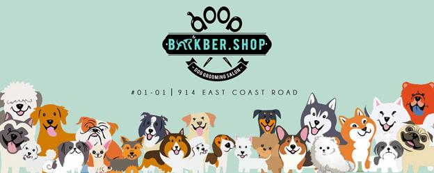 barkber shop dog groomers singapore