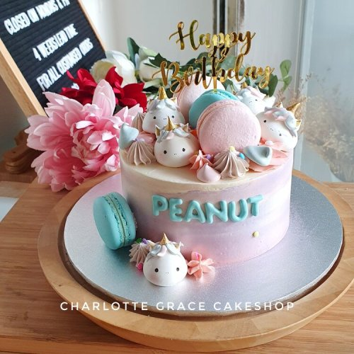 Charlotte Grace customised cakes