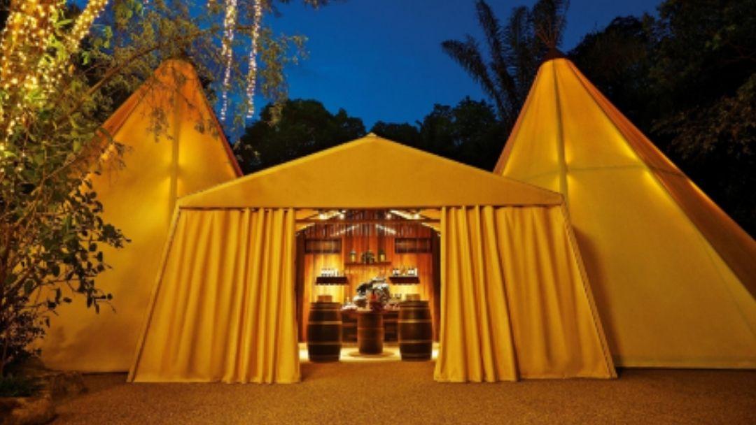 Tipi Tent at Night Safari_wedding venues