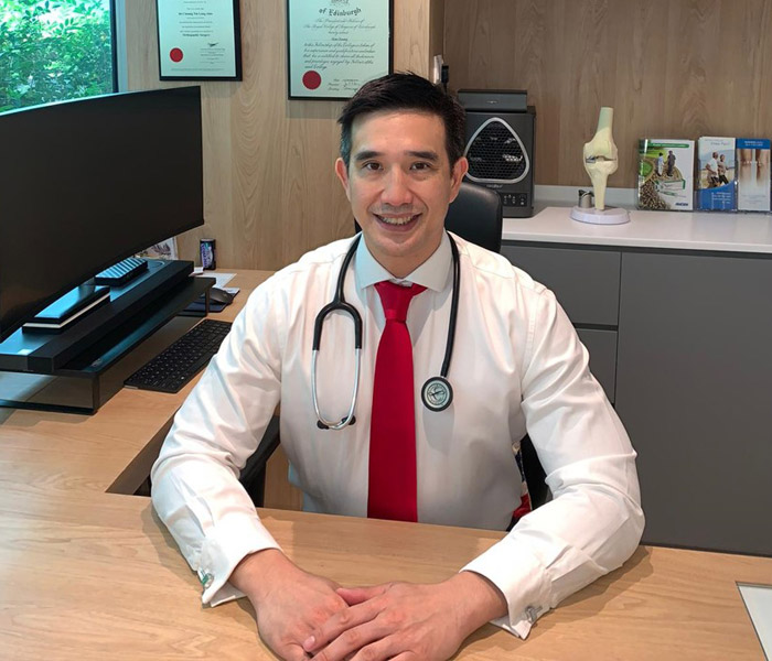 Dr Alan Cheung orthopaedic specialist