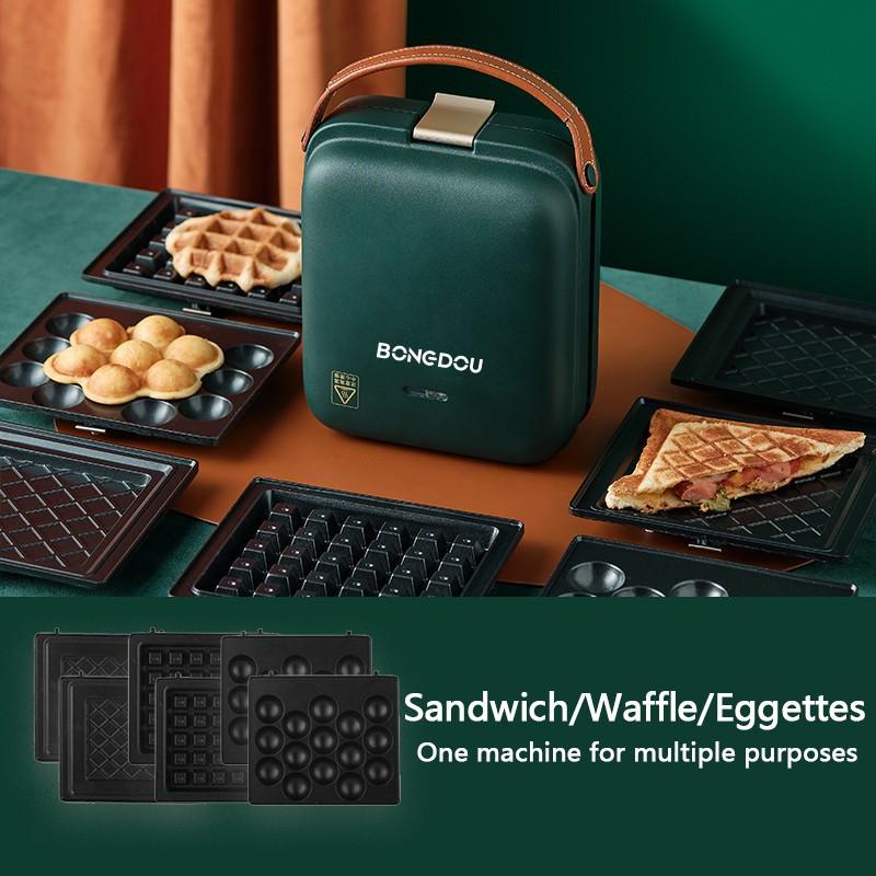 Bongdou 5 in 1 Electric Sandwich Maker