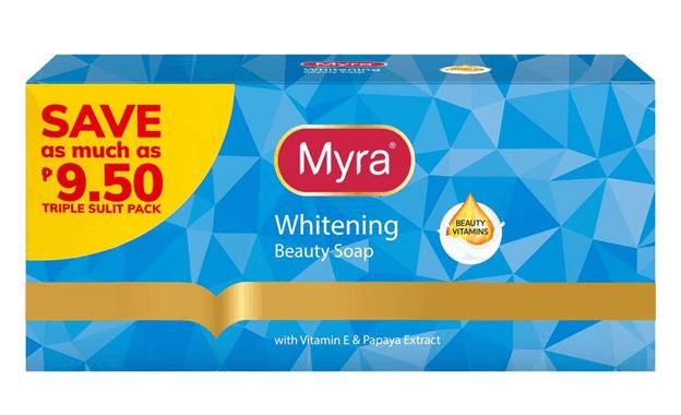 myra whitening soap philippines