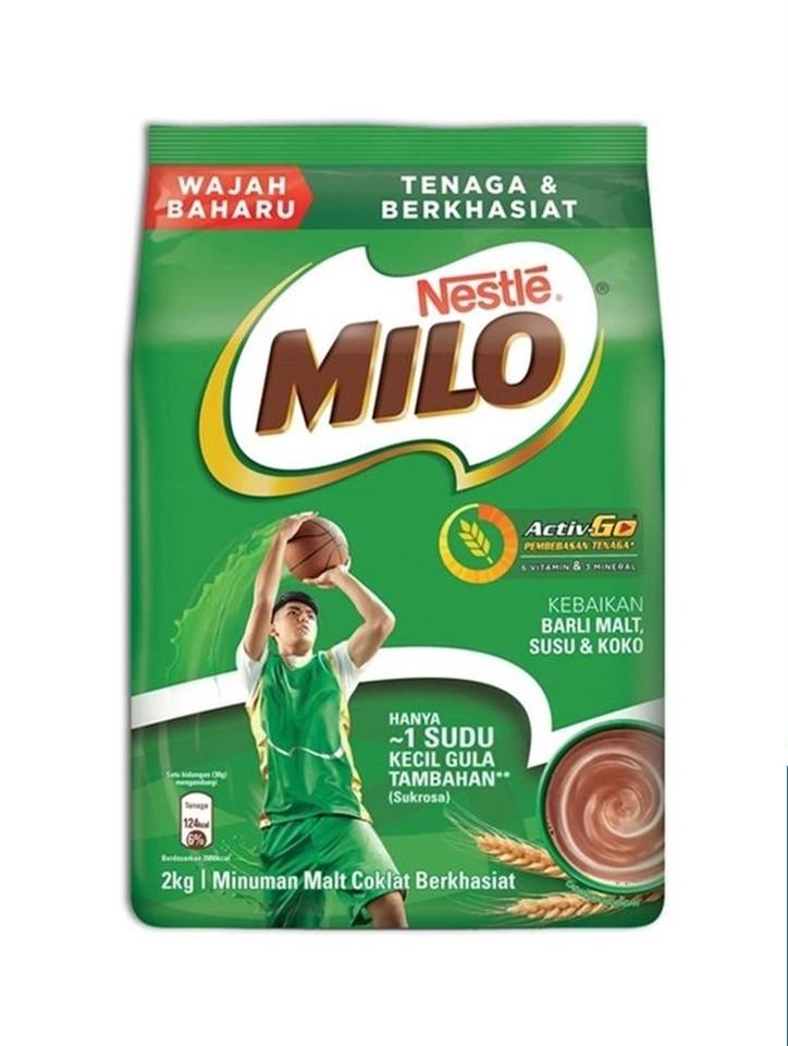 Nestle Milo Activ-Go Chocolate Malt Powder