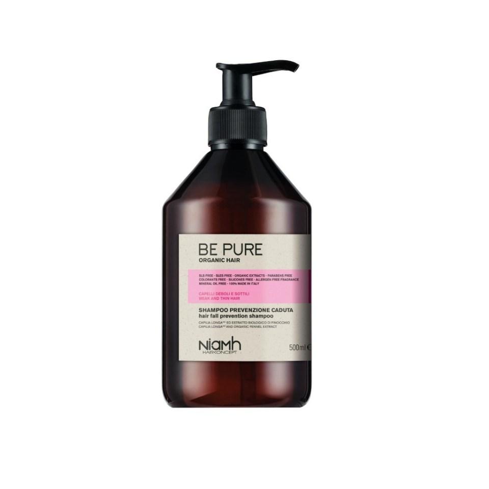 Niamh Be Pure Hair Fall Prevention Shampoo Weak And Thin Hair