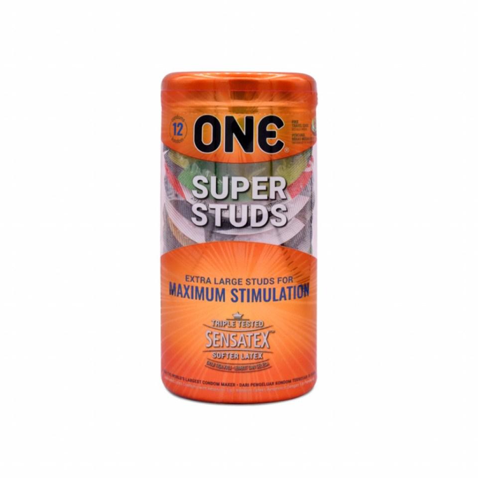 One Condoms Super Studs