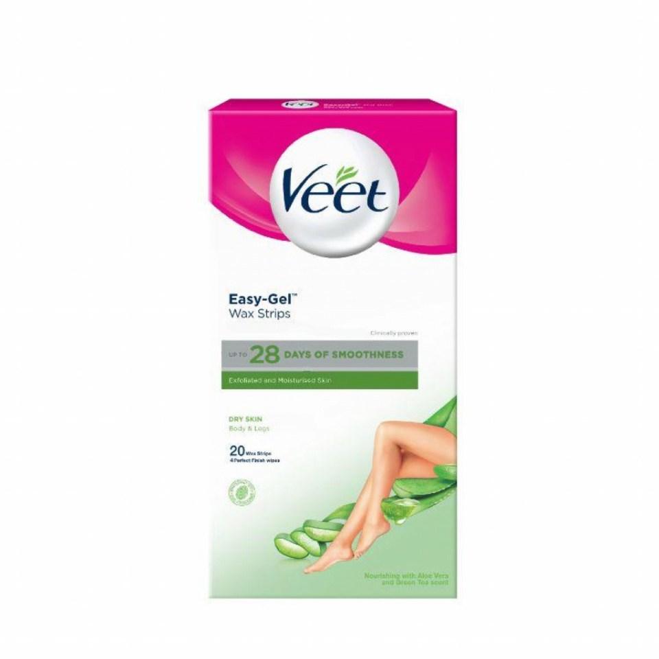 Veet Cold Wax Strip Dry Skin