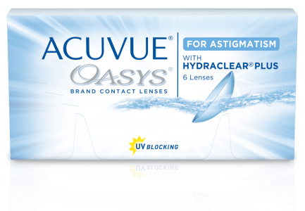 Acuvue Oasys for Astigmatism Contact Lens Singapore