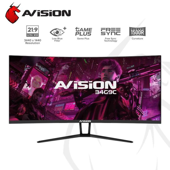 Avision 34in Ultrawide