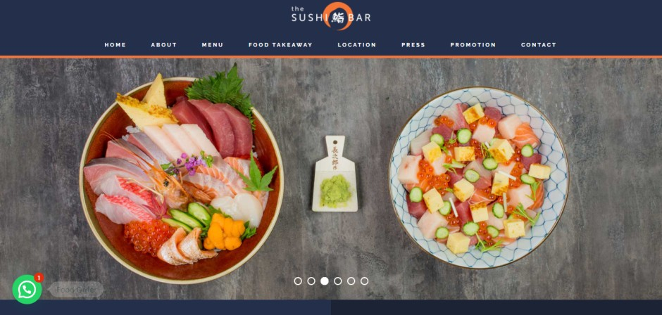 The Sushi Bar Best Restaurants for the Freshest Sushi in Singapore