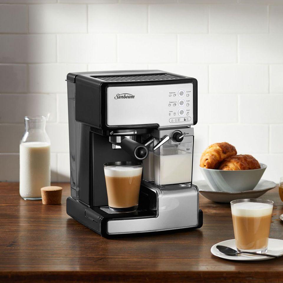 sunbeam cafe barista coffee machine australia