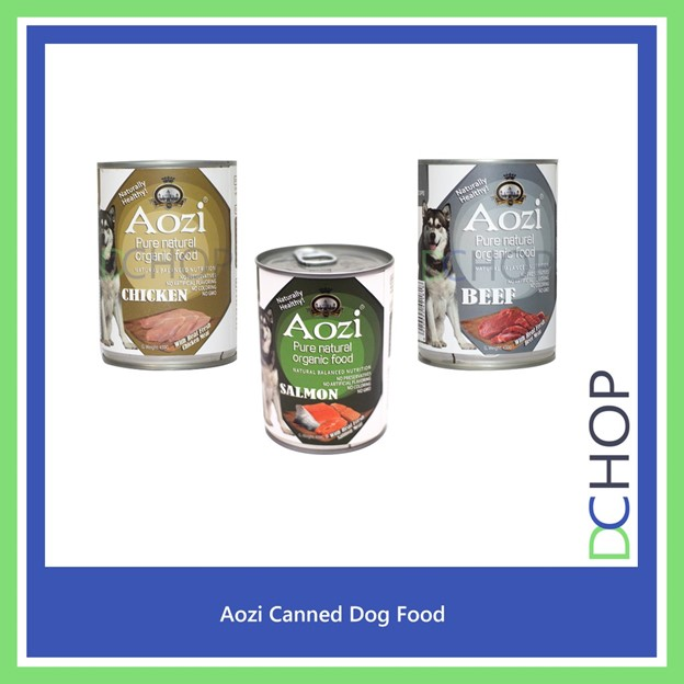 Aozi Natural Organic Canned Wet
