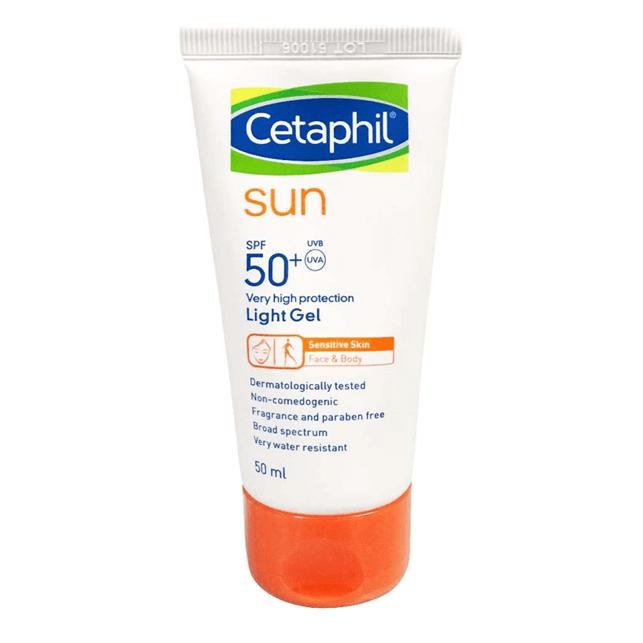 Cetaphil Sun SPF50+ Gel sunscreen philippines