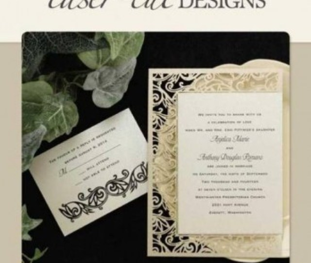 Laser Cut Invitations From R To R Each