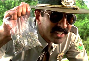Cop With Weed