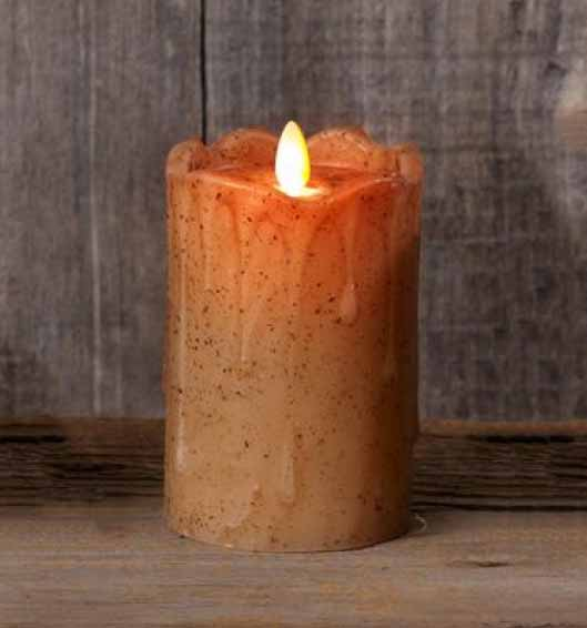 Timer Candle Battery Operated Flickering
