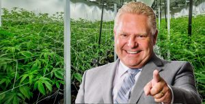 Ontario Premier Doug Ford set to privatize cannabis sales, report says