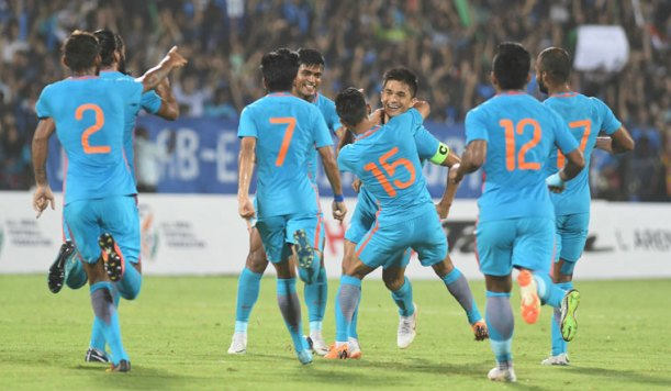 Related image  Nigeria vs India (1-99) match everyone talks about? Here's all you need to know about it (With Pictures) sunil chhetri india pti