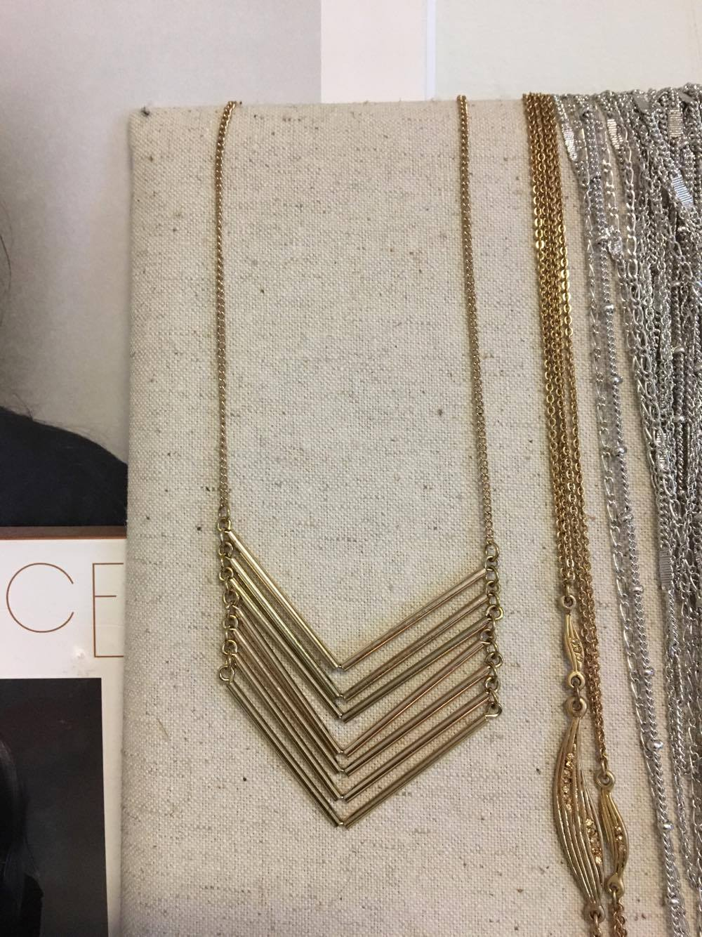 Baublebar Chevron Chain Necklace