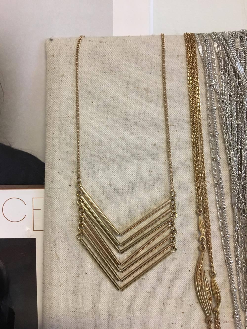 Baublebar Chevron Chain Necklace