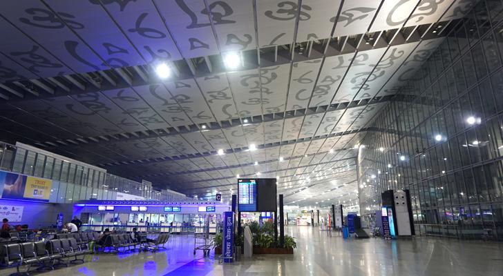 touchdown india - arriving at the kolkata airport