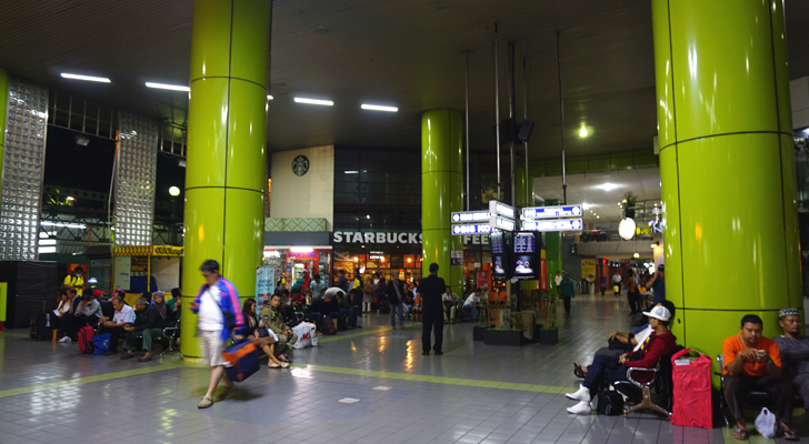 Glimpses of Jakarta - at Gambir station