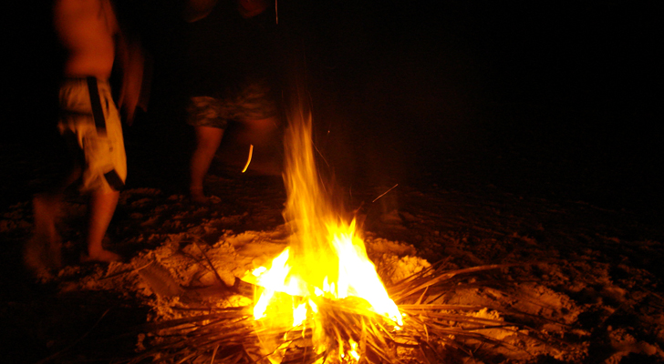 Siquijor - bonfire