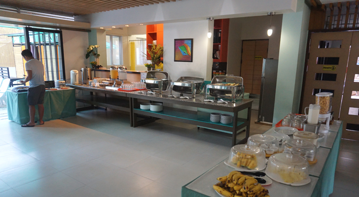 Sea Cocoon Hotel El Nido - breakfast