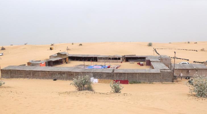 Dubai desert safari - desert camp