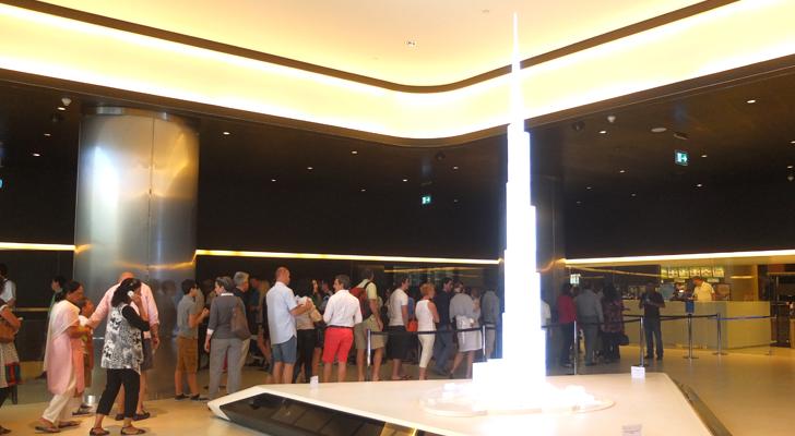 burj khalifa - lobby