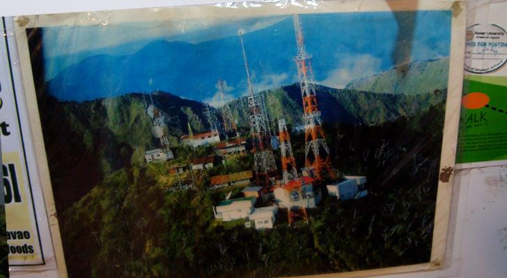 Mt Kitanglad - towers