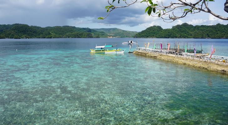 Dinagat island hopping - Buena Suerte Resort
