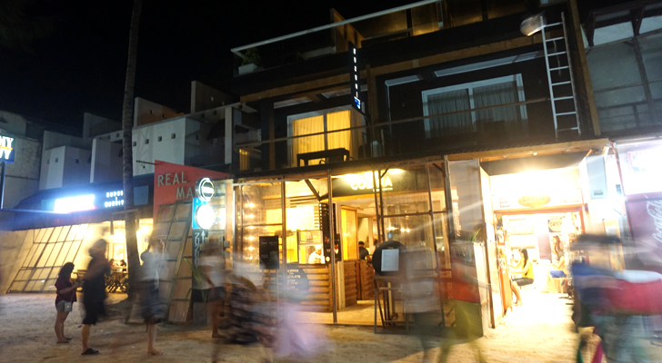 Zuzuni Boracay - at night