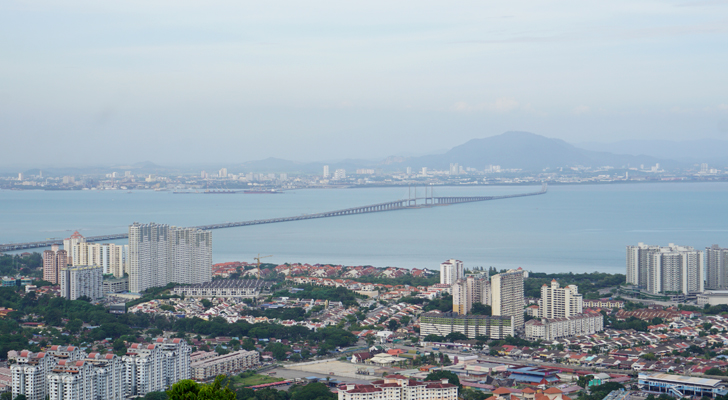 Touchdown Penang - first bridge
