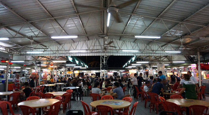 Touchdown Penang - hawker place