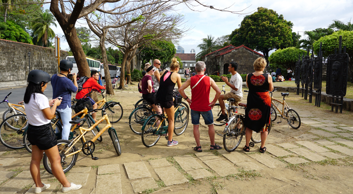 Bambike Ecotours - Philippine Presidents Gallery