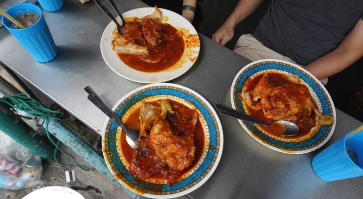 Roti Canai at Transfer Road - uglydelicious